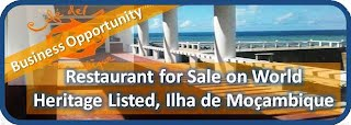 Restaurant on Ilha de Moçambique for sale